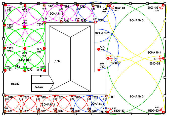 Проектирование системы автоматического полива